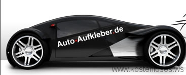 Autoaufkleber gratis