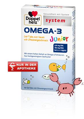 Omega 3 Produktprobe