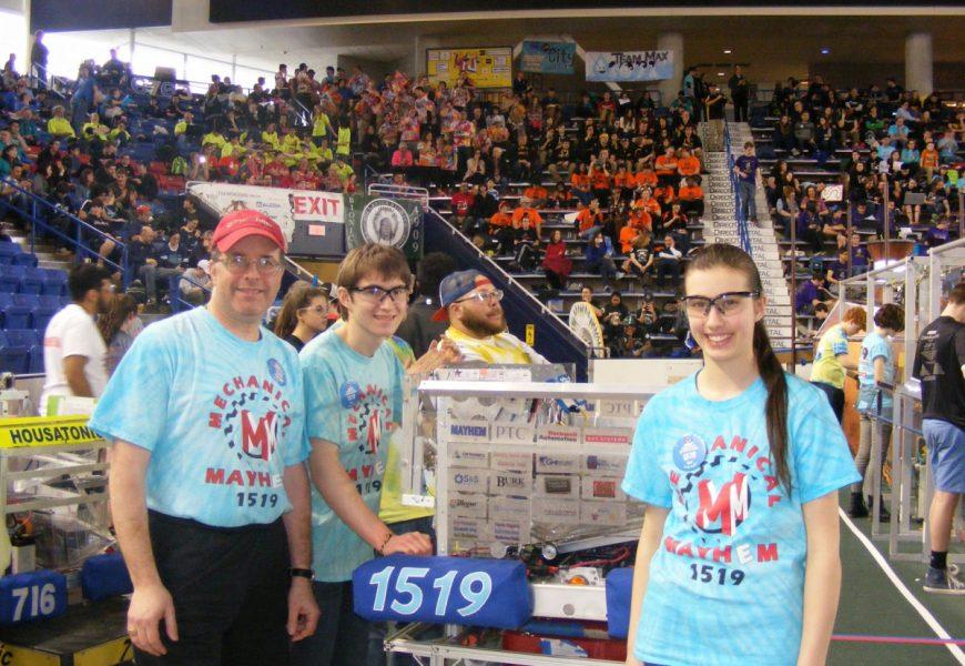 Der First Robotics Design Wettbewerb fördert junge Talente
