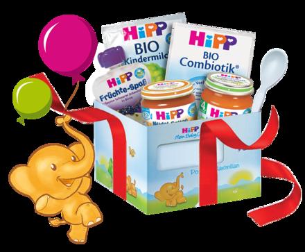 Kostenlose Hipp Babynahrung