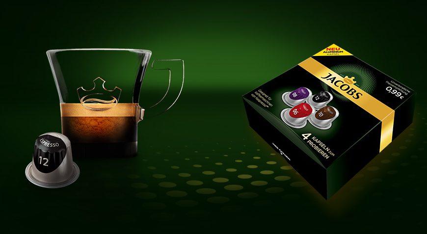 4 Jacobs Nespressokapseln kostenlos
