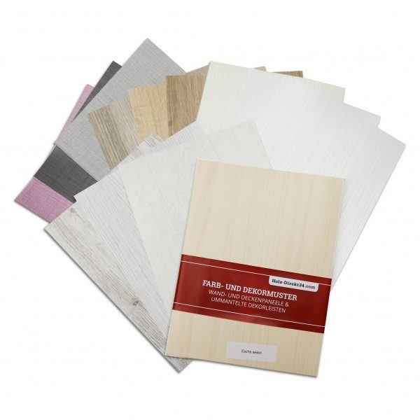 Große Auswahl an Paneelen gratis im Musterpaket