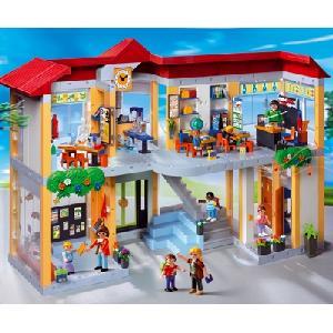 Mittwochs-Klopfer: Playmobil grosse Schule