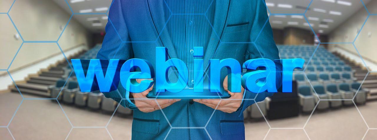 Webinare – die vorteilhafte Weiterbildung der Zukunft